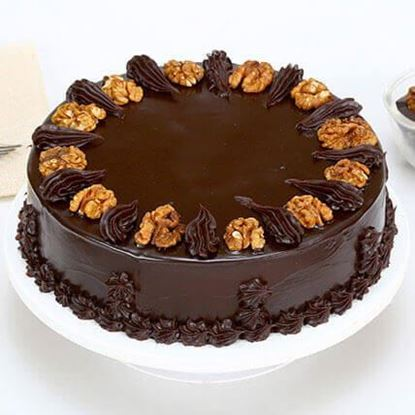 Picture of Chocolate Walnut Cake