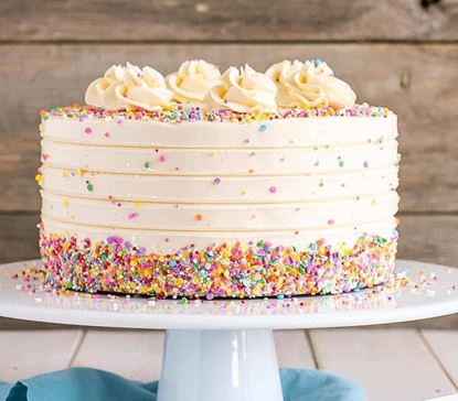 Picture of Vanilla Funfetti Cake