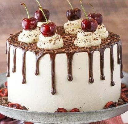Picture of Black Forest Drip Cake