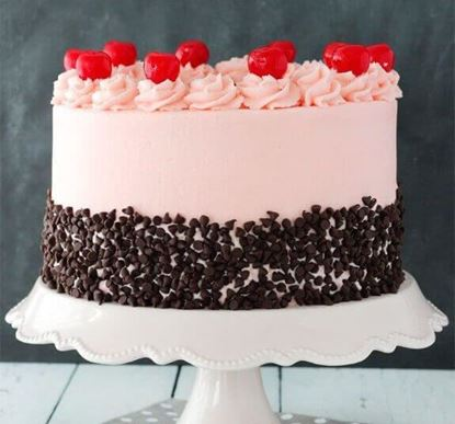 Picture of Cherry Choco Chip Cake