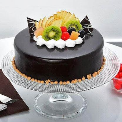Picture of Chocolate Fruit Cake