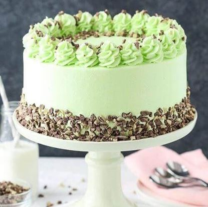 Picture of Mint Chocolate Layer Cake