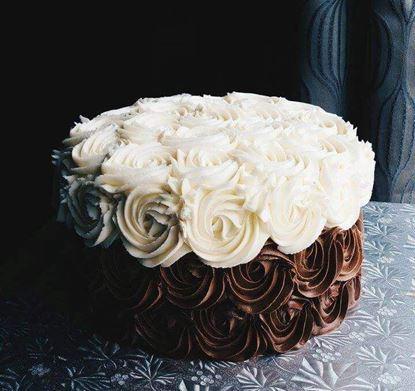 Picture of Choco Vanilla Rose Cake