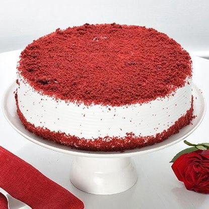 Picture of Red Velvet Anniversary Cake