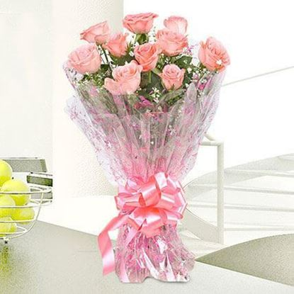 Picture of Pink Roses Bouquet