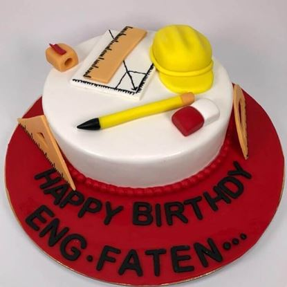 Picture of Engineer Theme Cake