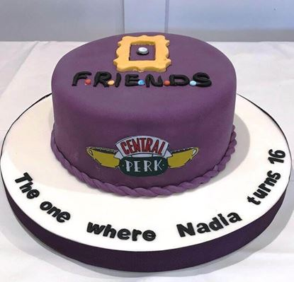 Picture of Friends Theme Cake