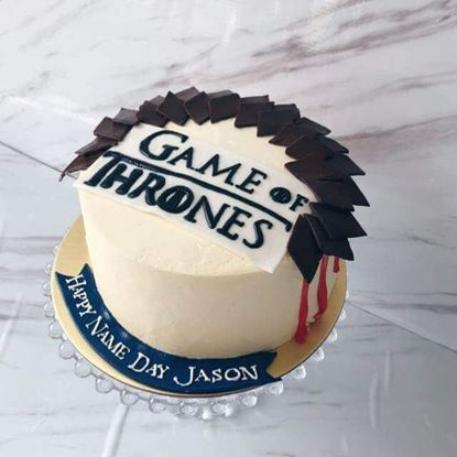 Picture of Game of Thrones Cake 1
