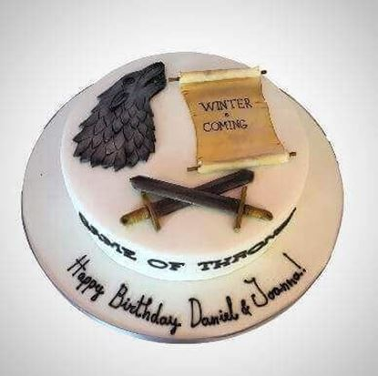 Picture of Game of Thrones Cake 2