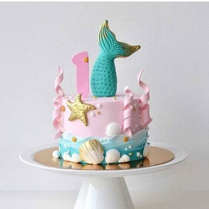 Picture of Mermaid Theme Cake