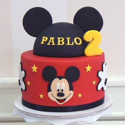 Picture of Mickey Mouse Cake