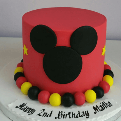 Picture of Mickey Mouse Cake 1