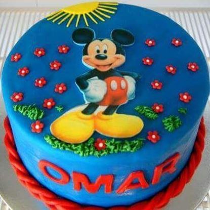 Picture of Mickey Mouse Cake 2