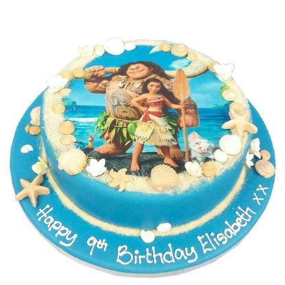 Picture of Moana Theme Cake