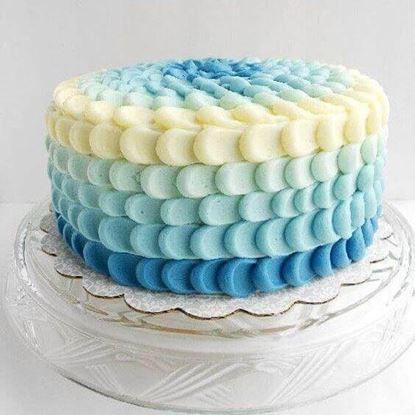 Picture of Ombre Cake