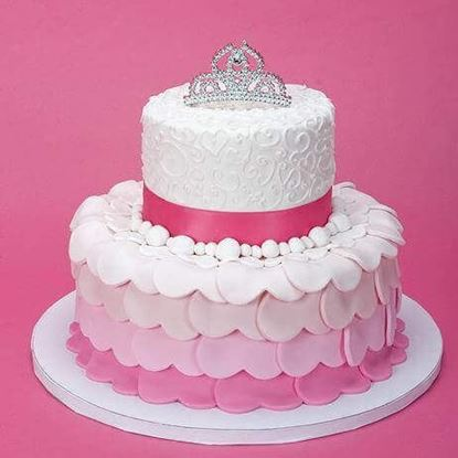 Picture of Princess theme Cake