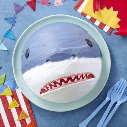 Picture of Shark Theme Cake