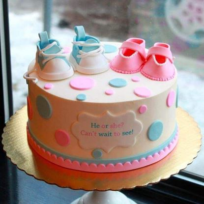 Picture of Gender Reveal Cake