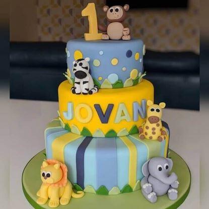 Picture of Jungle Theme Cake 3