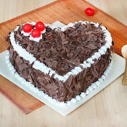 Picture of Black Forest Heart Cake