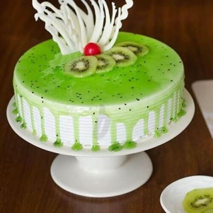 Picture of Kiwi Jelly Cake