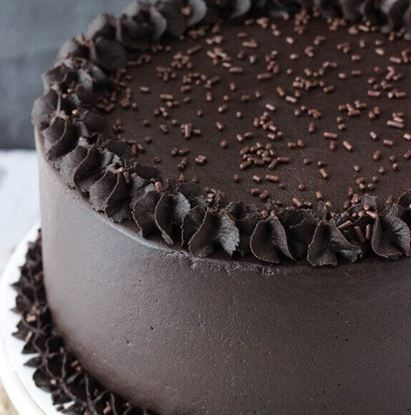 Picture of Dark Chocolate Cake