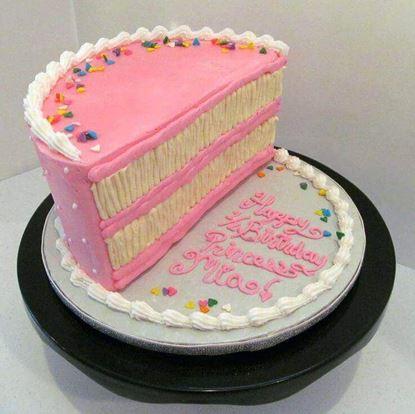 Picture of Half Birthday Cake