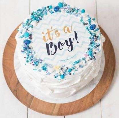 Picture of Its a Boy Cake