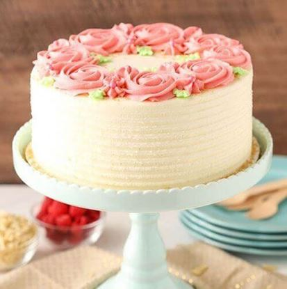 Picture of Raspberry Rose Cake