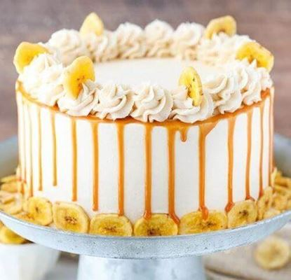 Picture of Caramel Banana Cake