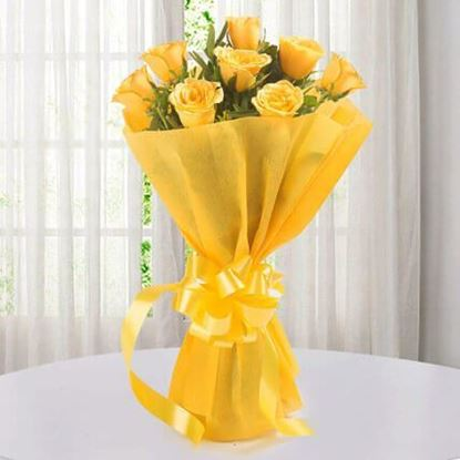 Picture of Happy Yellow Roses