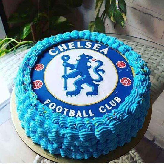 Awesome Chelsea Cake 1 Infinity Cakes To Cakes Beyond Personalised Birthday Cards Veneteletsinfo