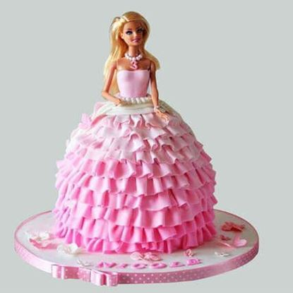 Picture of Barbie Cake 2