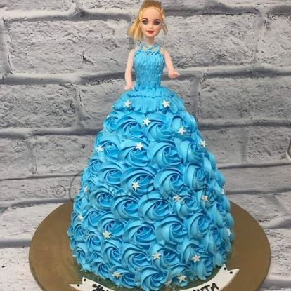Picture of Barbie Cake 4