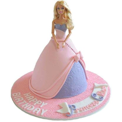 Picture of Barbie Cake 6