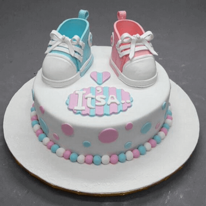 Picture of Baby Shower Cake 4