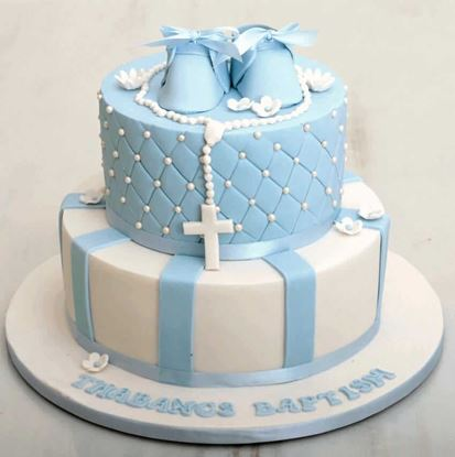 Picture of Christening Cake 1