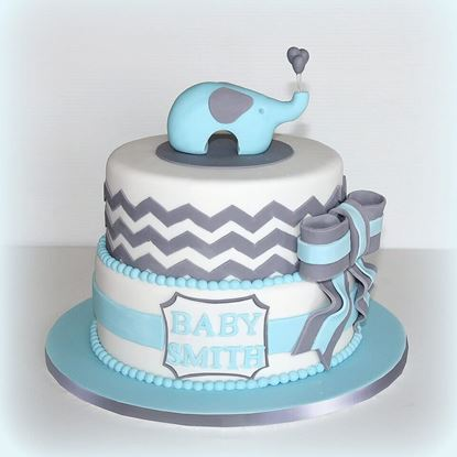 Picture of Baby Boy Cake