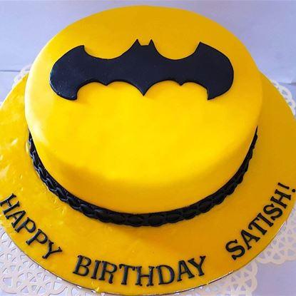 Picture of Batman Theme Cake 1