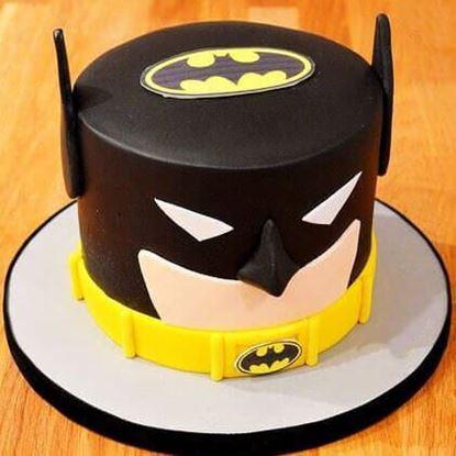 Picture of Batman Theme Cake 2