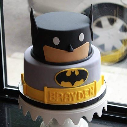 Picture of Batman Theme Cake 3