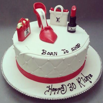 Picture of Born To Shop Cake 3