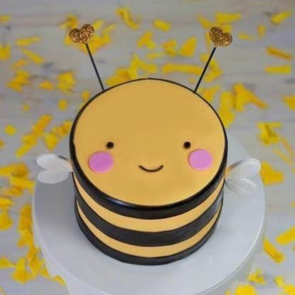 Picture of Cute Bee Cake