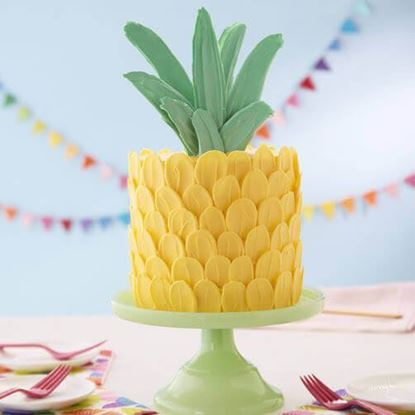 Picture of Cute Pineapple Cake
