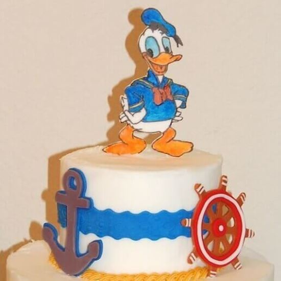 Prime Donald Duck Cake Online Online Cake Delivery Order Cake Online Funny Birthday Cards Online Elaedamsfinfo