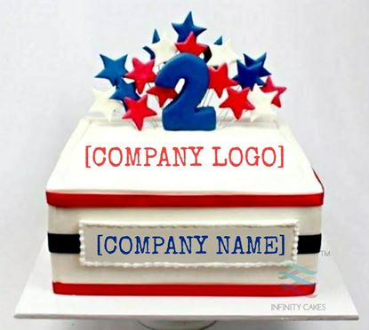 Picture of Company Theme Cake
